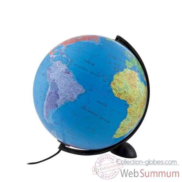 Globe lumineux diam.30cm Atmosphere - ELLIPSE P