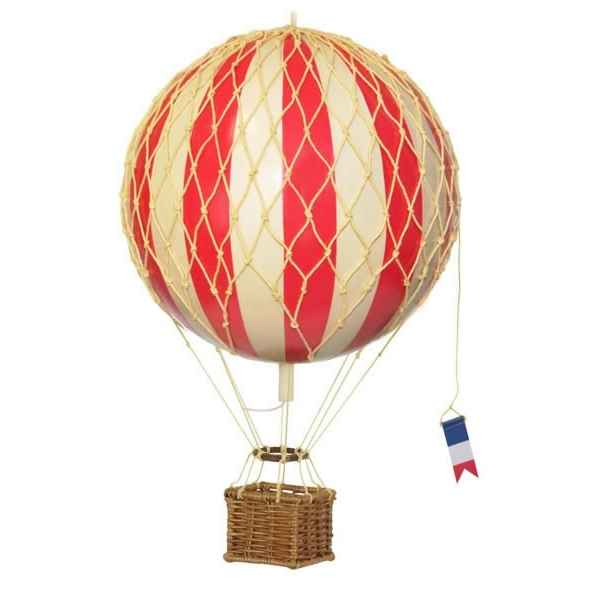 Video Replique Montgolfiere Ballon Rouge 18 cm -amfap161r