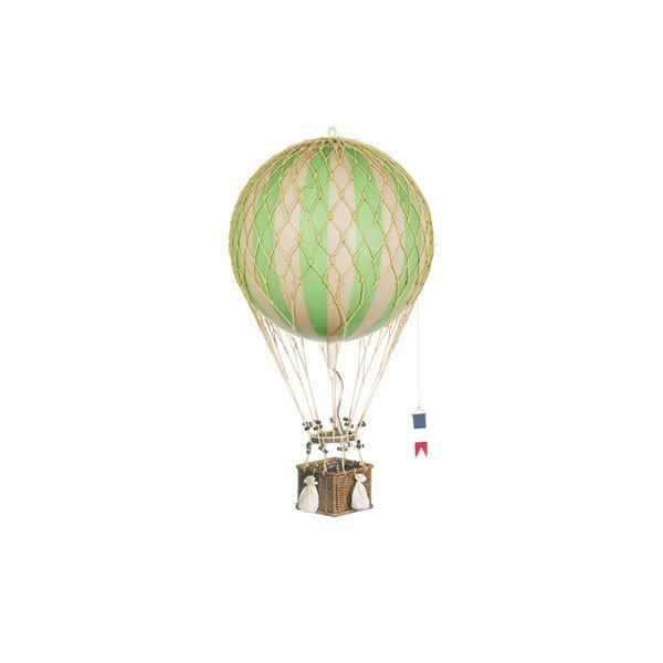 Video Replique Montgolfiere Ballon Vert 32 cm -amfap163g