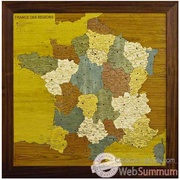 Carte de France des r�gions Creartion -France