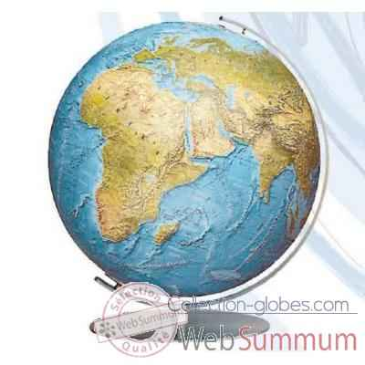 Globe lumineux colombus diam 40 collection classic duorama relief co214081f