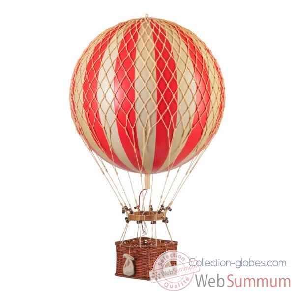 Ballon jules verne, rouge Decoration Marine AMF -AP168R