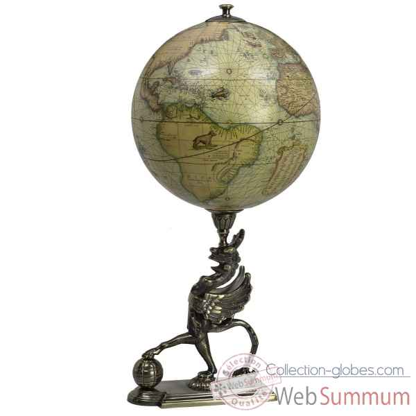 Globe griffon Decoration Marine AMF -GL053