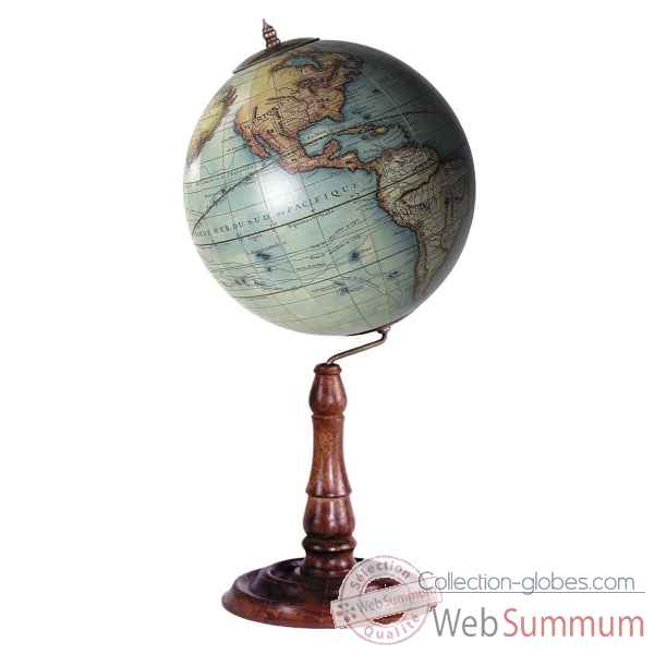 Globe vaugondy 1745 Decoration Marine AMF -GL021F