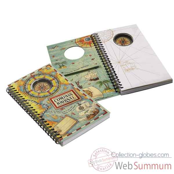 Journal de bord boussole Decoration Marine AMF -MS010A