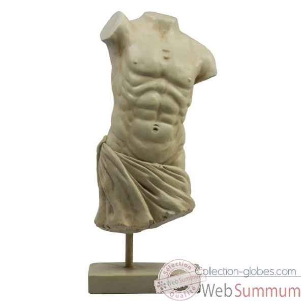 Roman male torso Decoration Marine AMF -AR052