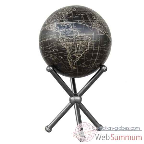 socle globe tripode Decoration Marine AMF -GL300A