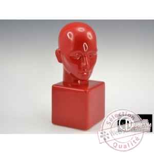 statue apparence visage rouge Edelweiss -B5771