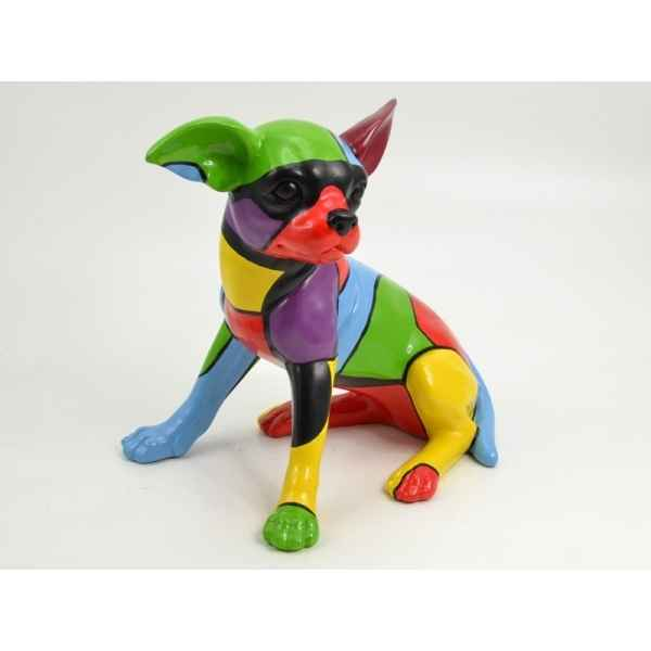 Statuette playful chihuahua colore 31cm Edelweiss -C9084