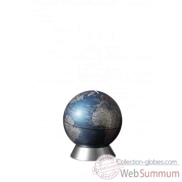 Globe tirelire orion bleu emform -se-0907