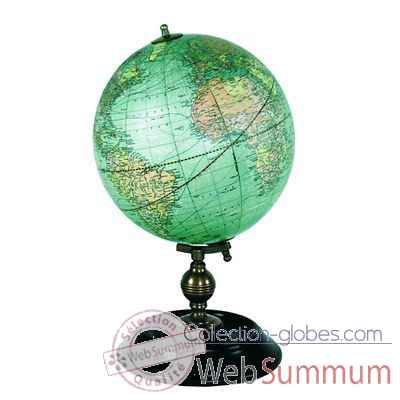 Video Globe Terrestre 1921 Weber Costello -amfgl026
