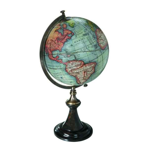 Video Globe Terrestre Vaugondy 1745 Support Classique -amfgl008d