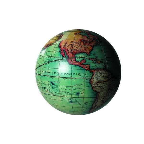 Video Globe Terrestre Vaugondy Couleur 14 cm -amfgl213