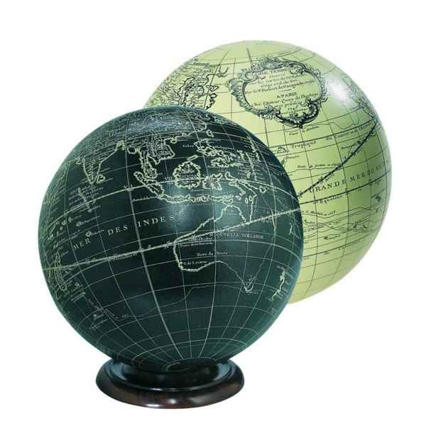 Video Globe Terrestre Vaugondy Ivoire 18 cm -amfgl312