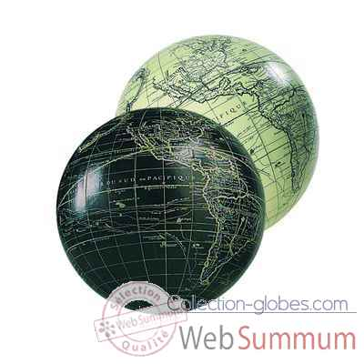 Video Globe Terrestre Vaugondy Noir 12 cm -amfgl111