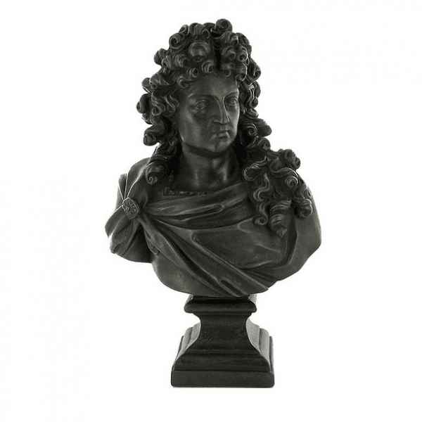 Reproduction statuette musee buste de louis xiv (girardon) art francais -RF006683