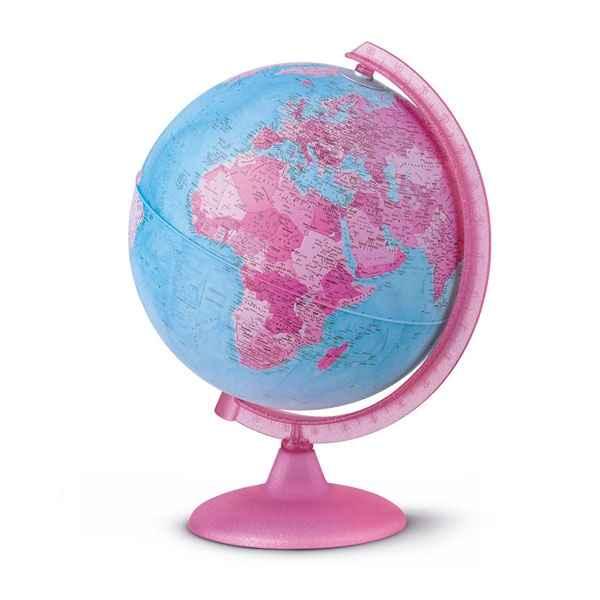 Globe Pink Globe G 233 Ographique Lumineux Rose