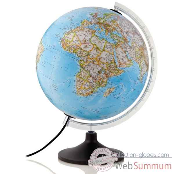 Globe carbon classic national geographic lumineux