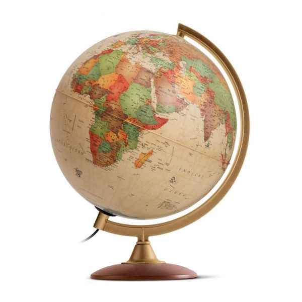 Globe lumineux de bureau colombo 30 antique 30 cm (diametre) Sicjeg