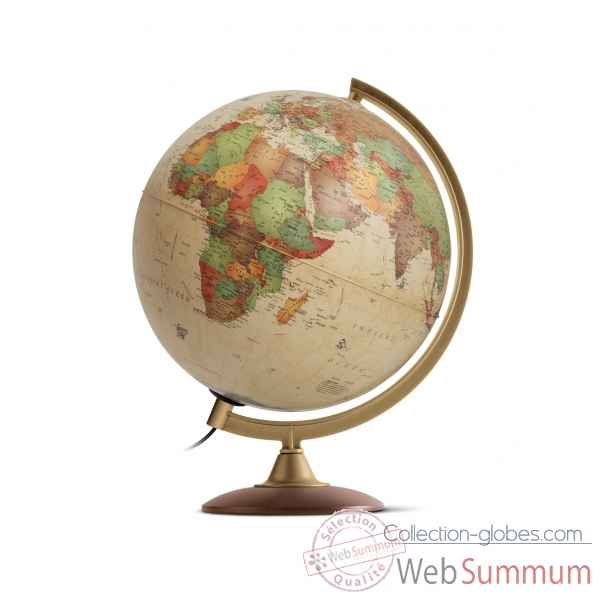 Globe lumineux colombo 25 antique 25 cm (diametre) Sicjeg