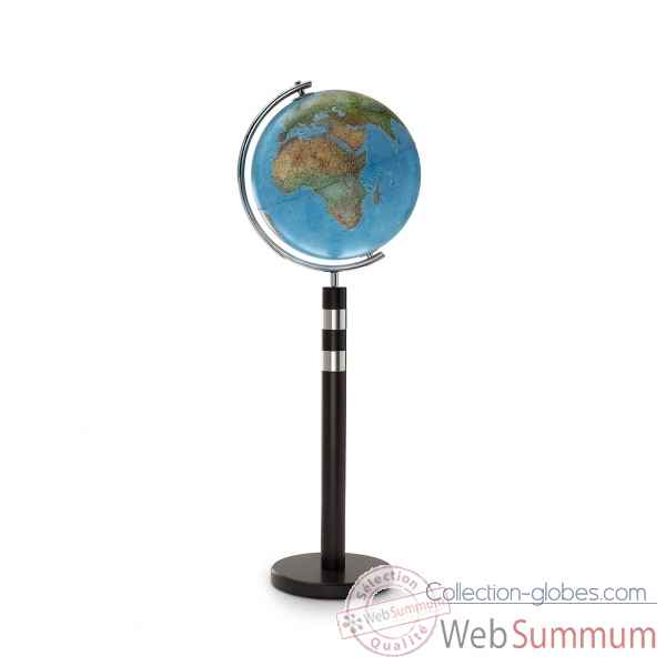Globe lumineux twin blue double cartographie 40 cm (diametre) Sicjeg