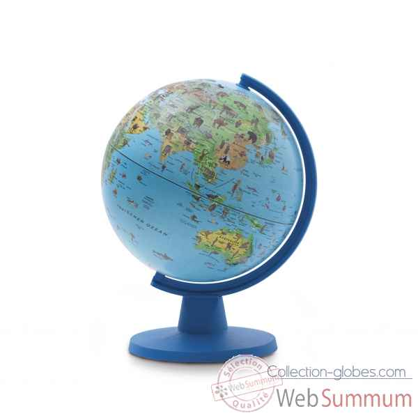 globe non lumineuxmini safari 16 mini cartographie illustr e 16 cm diam tre sicjeg dans. Black Bedroom Furniture Sets. Home Design Ideas