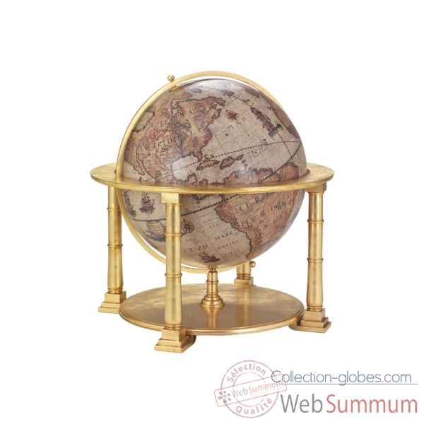 Great wooden globe Zoffoli -Art.1001