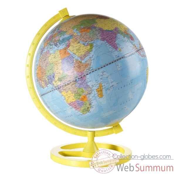 mappemonde de bureau colour circle zoffoli dans bureau sur collection globes. Black Bedroom Furniture Sets. Home Design Ideas