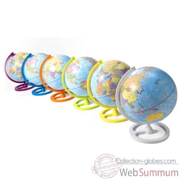 "Mappemonde de bureau ""colour circle\"" Zoffoli -Art.929.O"