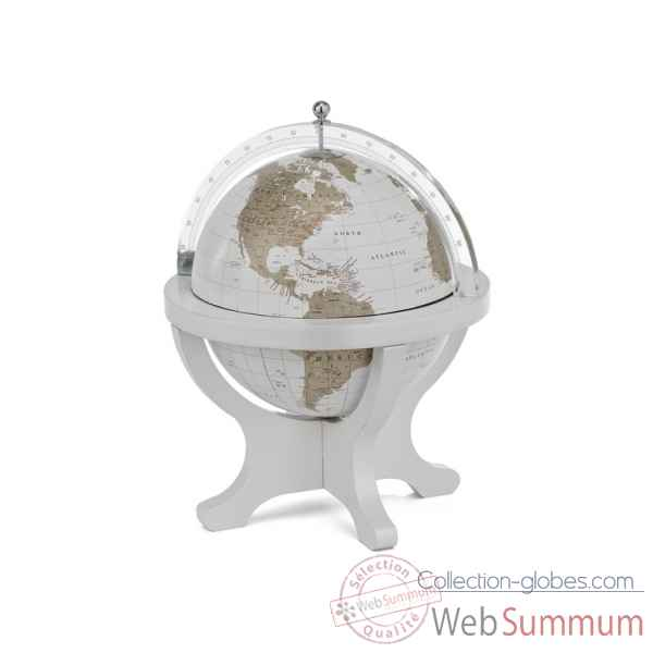 mappemonde de bureau en bois et plexiglas zoffoli dans mappemonde globe de table. Black Bedroom Furniture Sets. Home Design Ideas
