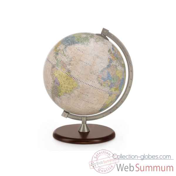 "Mappemonde de table ""james cook"" Zoffoli -Art.921.01"