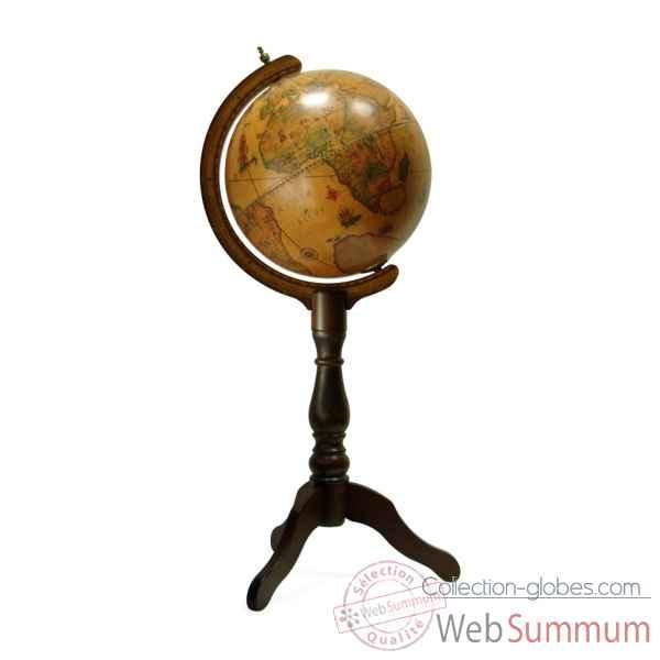 Globe terrestre zoffoli sur collection globes - Globe terrestre en bois ...